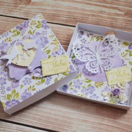 Kartka w pudełku – ślubna