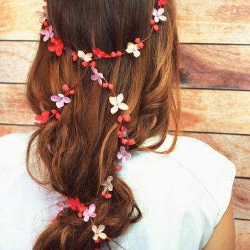 Nowość – girlandy do włosów!