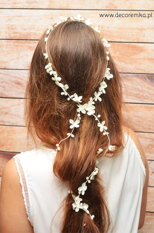 Girlanda – biała