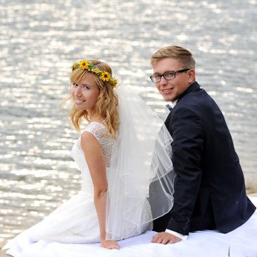 """""""Tak"""" dla sztucznych wianków na ślubie!"""