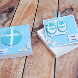 Zaproszenie w pudełku – chrzest 2