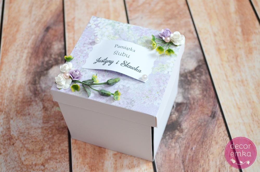 exploding box – ślub 11
