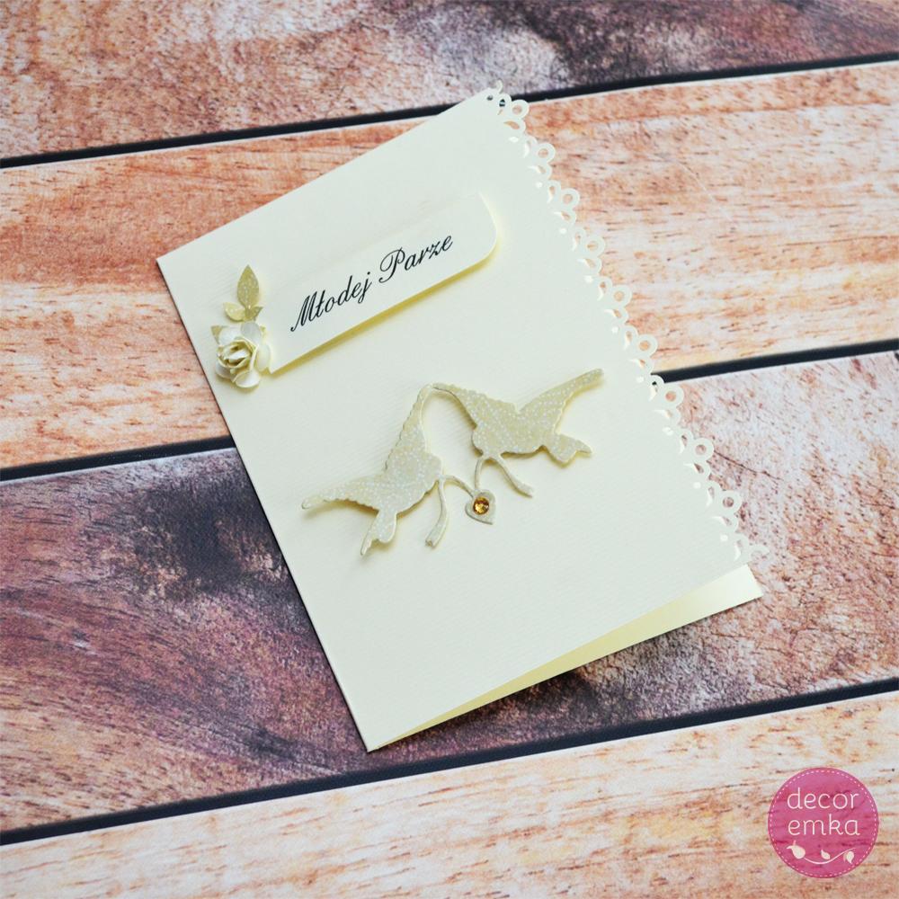 Kartka ślubna 4