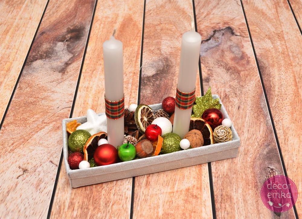 stroik świąteczny prostokątny