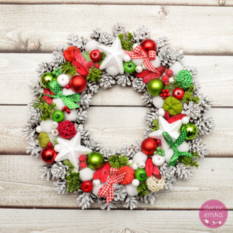 wianek świąteczny boże narodzenie