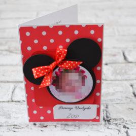 Kartka myszka Minnie 2