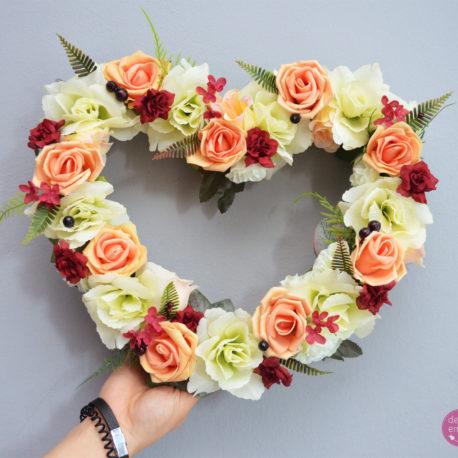 kwiatowe serc