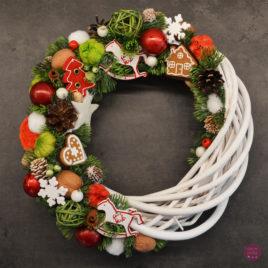 Wianek świąteczny – klasyczny