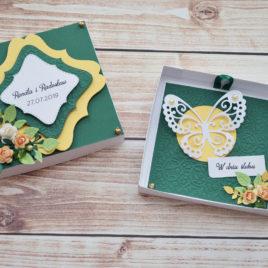 Kartka w pudełku – ślubna 3