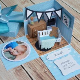 Box Baby Room – niebieski