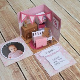 Box Baby Room – różowy
