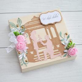 Drewniana pamiątka – ślubna