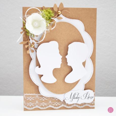 kartka ślubna rustykalna 1