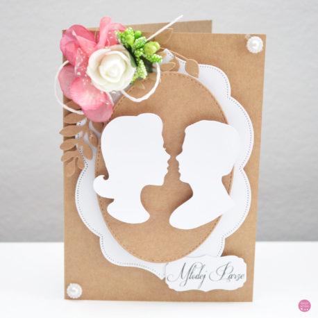 kartka ślubna rustykalna 3