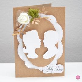 Kartka ślubna – rustykalna [4]