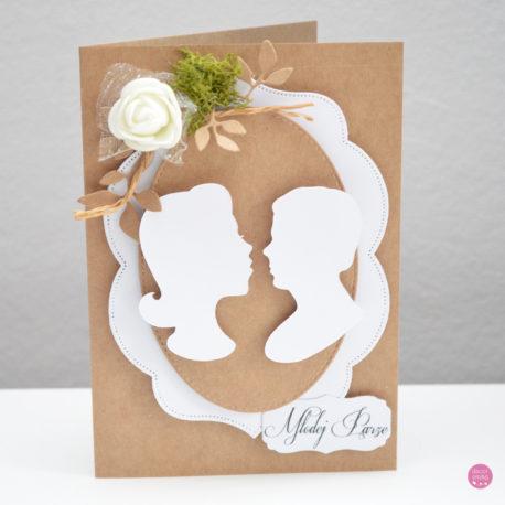 kartka ślubna rustykalna 4