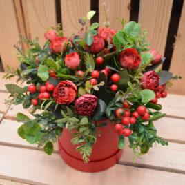 Flowerbox – czerwień