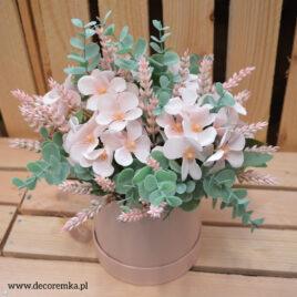 Flowerbox – pudrowy róż