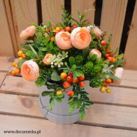 Flowerbox – brzoskwiniowy