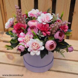 Flowerbox – róż z fioletem