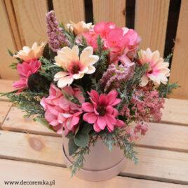 Flowerbox – wrzosowy